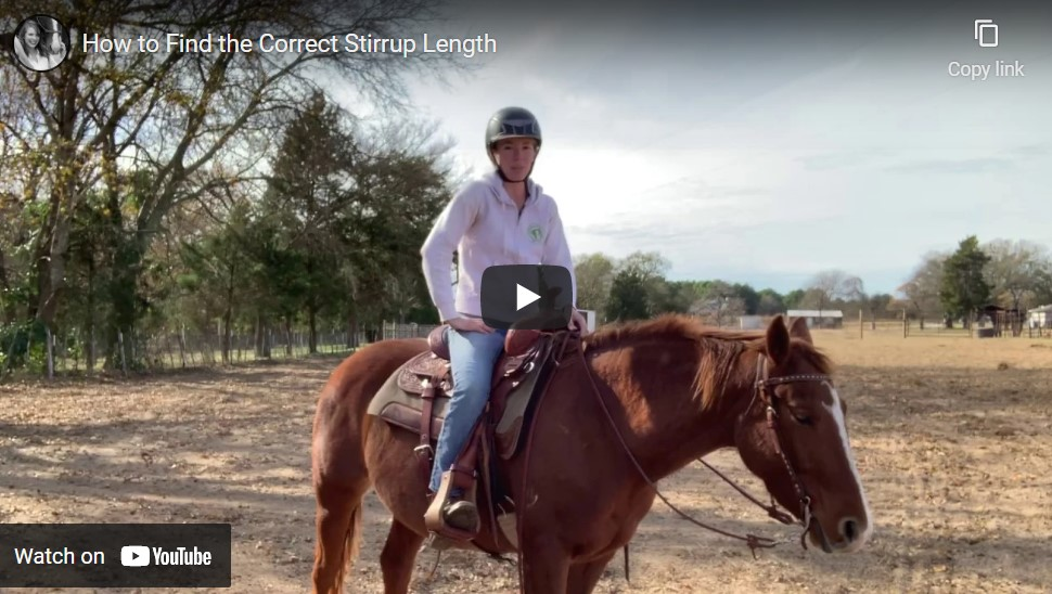 How to Find Correct Stirrup Length